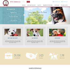 Camp Bow Wow - Full HTML Corporate home