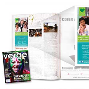 Greenheart Travel VERGE Magazine Advertisement