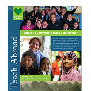 Greenheart Travel Teach Abroad Program Brochure Cover
