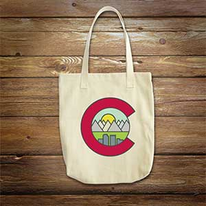 Mountain Goatees Tote Product Image